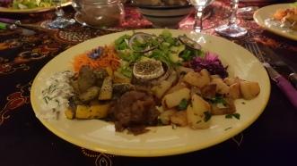 Vegan specialty at the Bonheur