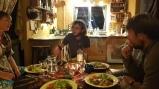 Dinner together at the Bonheur