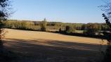 View across the fields towards Bonheur