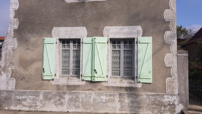 Typical French shutters