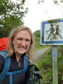 This sign made me angry as the womans walking behind in a skirt. Women generally don't hike in skirts!