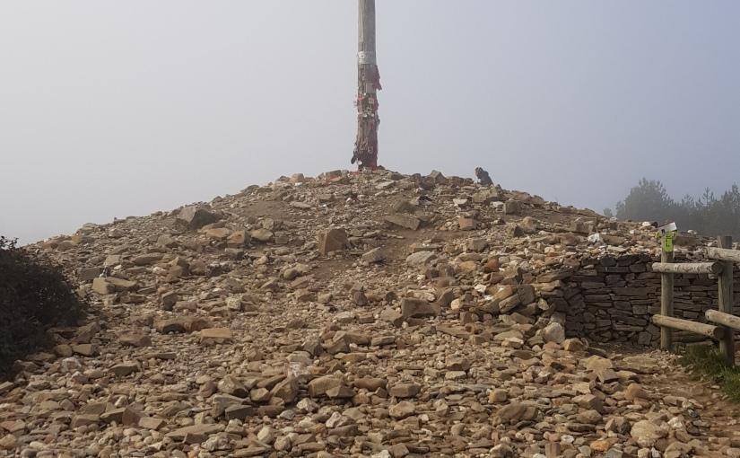 Camino Day 65 (Foncebadon Monte Irago to Ponferrerada) 27K- #CAMINO#HIKING